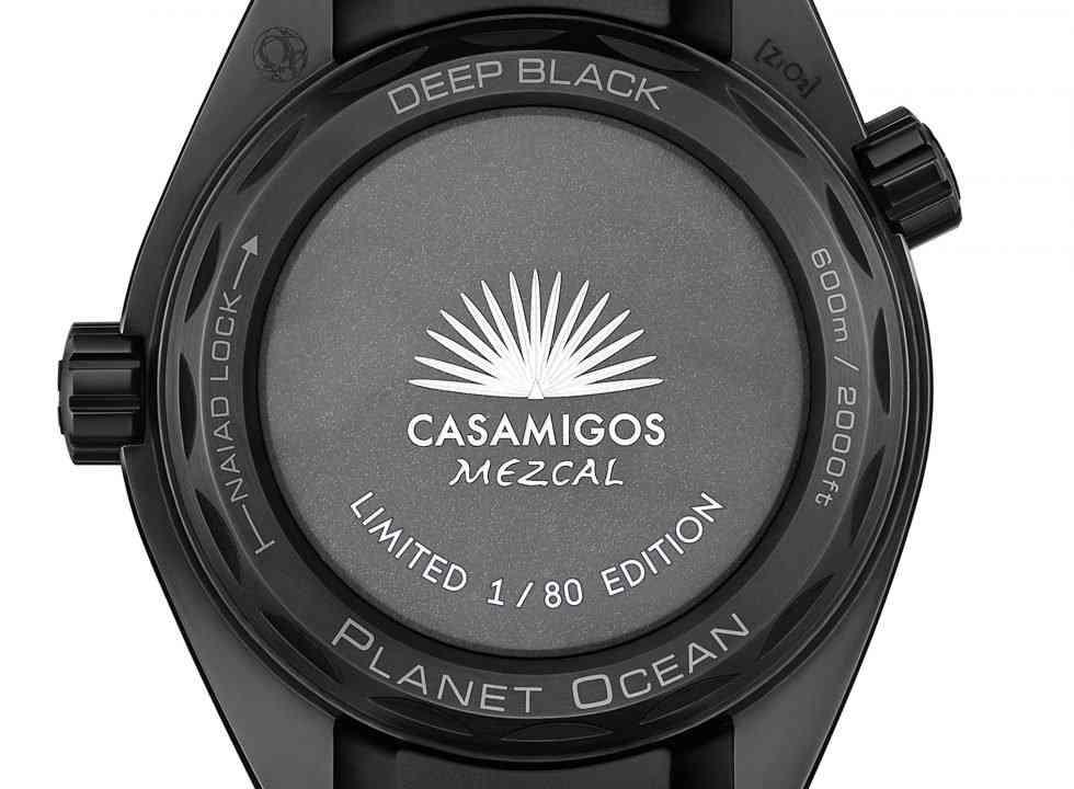 Réplicas De Relojes OMEGA Seamaster Planet Ocean Casamigos Negros Profundos 3