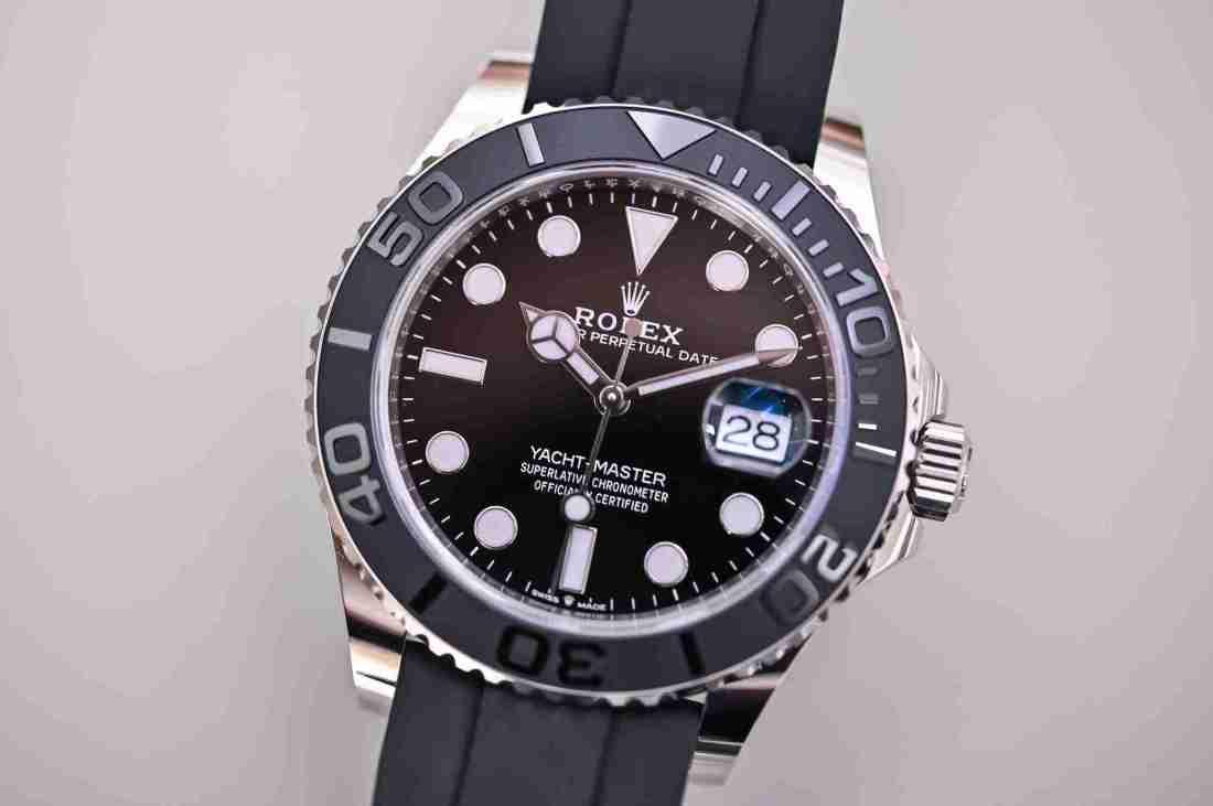 Replicas de relojes Rolex Yacht-Master 42 oro blanco 226659 recomendado para Viernes negro 2