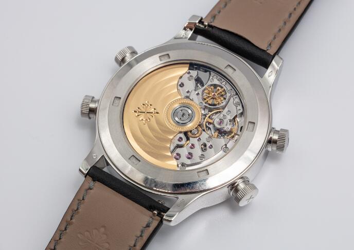 Réplicas de Relojes Patek Philippe Grandes Complicaciones Alarma Tiempo de viaje Automático 5520P-001 1