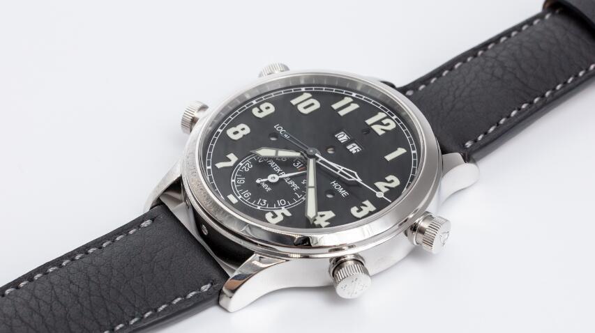 Réplicas de Relojes Patek Philippe Grandes Complicaciones Alarma Tiempo de viaje Automático 5520P-001 2