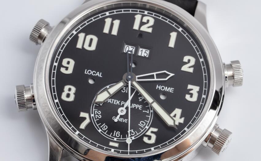 Réplicas de Relojes Patek Philippe Grandes Complicaciones Alarma Tiempo de viaje Automático 5520P-001 3