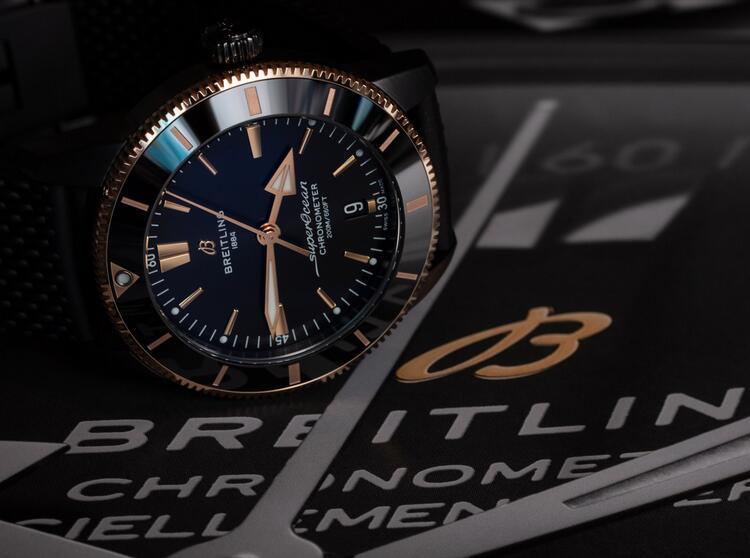 Revisión de Réplicas de edición limitada Breitling Superocean Heritage II Beverly Hills UB20303A1B1S1 3