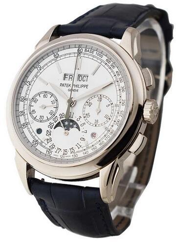 Presentamos la imitación Patek Philippe Grand Complications Oro blanco 5270G 3