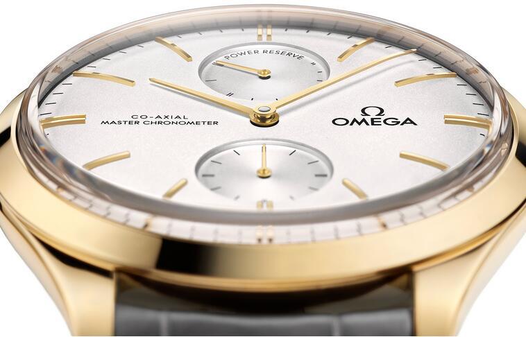 Revisión de Réplicas Relojes Omega De Ville Trésor Power Reserve 18k Oro amarillo 40mm 2