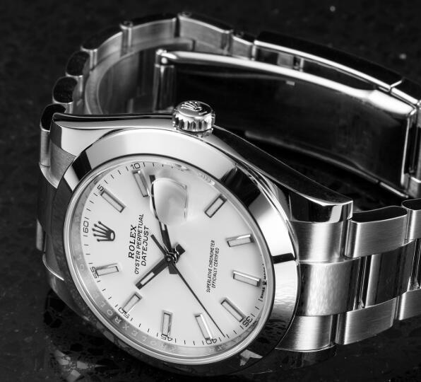 Presentamos la historia y la nueva réplicas de relojes Rolex Datejust 41 de acero inoxidable 2