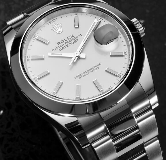 Presentamos la historia y la nueva réplicas de relojes Rolex Datejust 41 de acero inoxidable 3